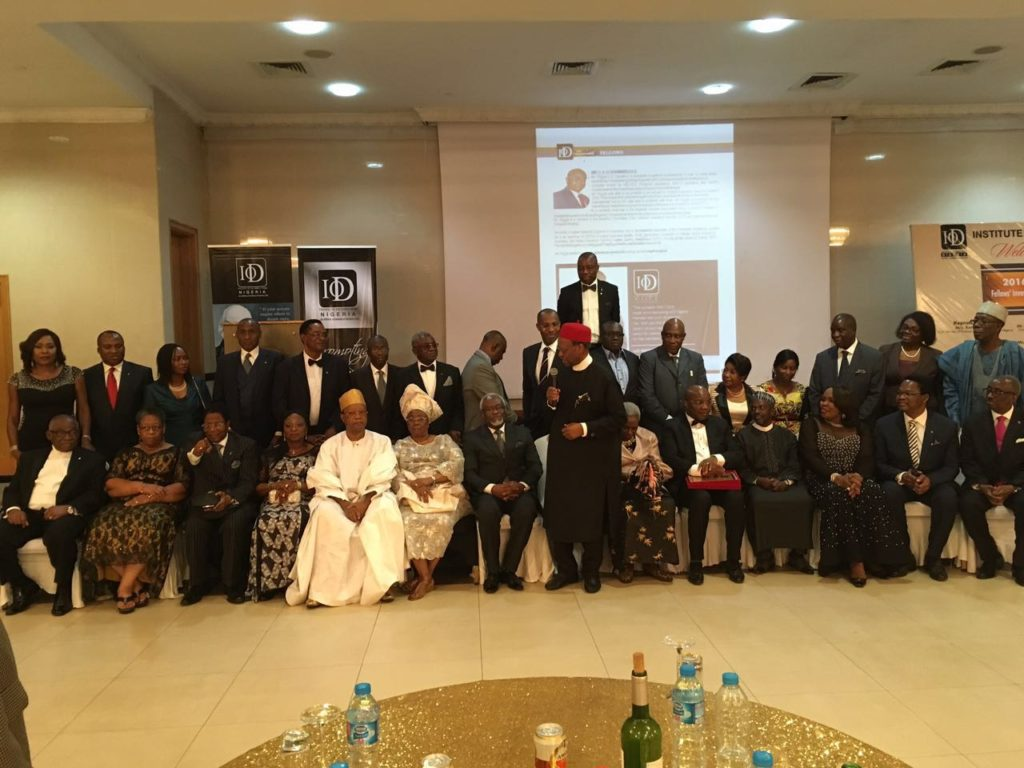 Investiture of the owner of www.askauntygrace.com Barr. (Chief) Grace Zemaye EGBAGBE as a Fellow of the Institute of Directors (IOD) took place on Thursday the 8th of. Sept 2016 at the Civic Center, Lagos.