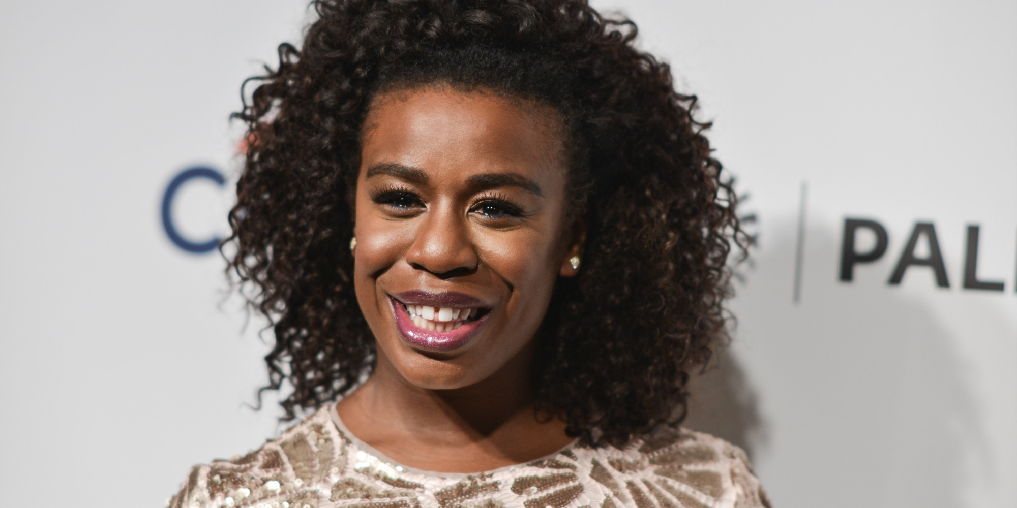 """Uzo Aduba arrives at PALEYFEST 2014 - """"Orange is the New Black"""" on Friday, March 14, 2014, in Los Angeles. (Photo by Richard Shotwell/Invision/AP)"""