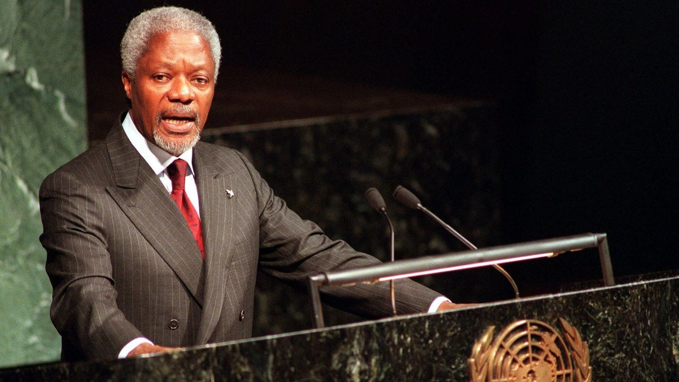 Former UN Secretary-General Kofi Annan dies at 80 - Ask ...